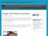1st4travelinsurance.co.uk