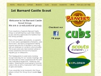 1stbarnardcastlescouts.co.uk