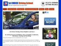 1stchoice-driving-school.co.uk