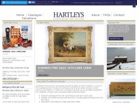 hartleysauctions.co.uk