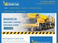 bromsgrovecranehire.co.uk