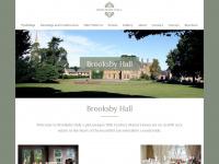 brooksbyhall.co.uk