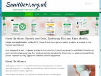 Sanitisers.org.uk