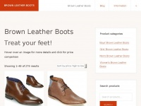brownleatherboots.co.uk