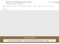 burystedmundsgolfclub.co.uk