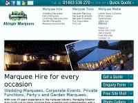 abingermarquees.co.uk
