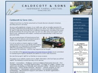 caldecottandsons.co.uk