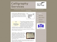 calligraphyservices.co.uk