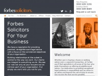 forbessolicitors.co.uk