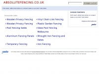 absolutefencing.co.uk