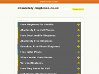 Absolutely-ringtones.co.uk
