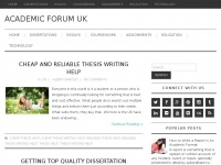 academicforum.co.uk