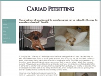 cariadpetsitting.co.uk