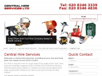 centralhireservices.co.uk