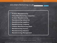 Acc-manufacturing.co.uk