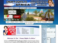 cheapflights-toafrica.co.uk