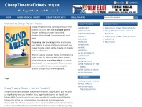 cheaptheatretickets.org.uk