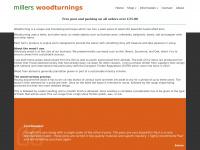 millerswoodturnings.co.uk