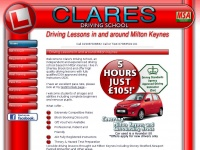 claresdrivingschool.co.uk