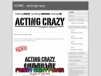 actingcrazy.co.uk