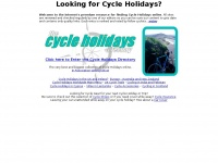 cycleholidays.co.uk