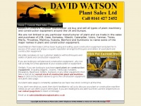 davidwatsonplantsales.co.uk