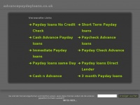 advancepaydayloans.co.uk