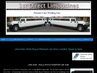 1stdirectlimousines.co.uk