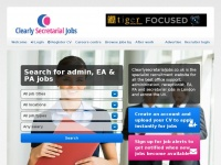 clearlysecretarialjobs.co.uk
