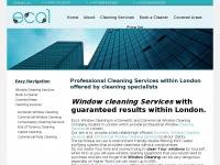 eco1windowcleaning.co.uk