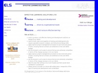 Effectivelearningsolutions.co.uk