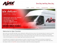 ajaxcouriers.co.uk