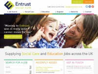 entrustsocialcare.co.uk