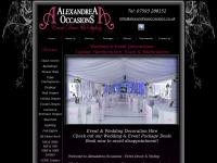 alexandreaoccasions.co.uk