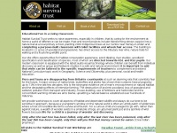 Habitatsurvival.org.uk