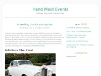hand-maidevents.co.uk