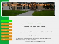 1stlandscapingsolutions.co.uk