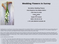 weddingflowerssurrey.co.uk