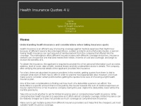 healthinsurancequotes4u.co.uk