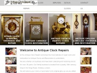 antiqueclockrepair.co.uk