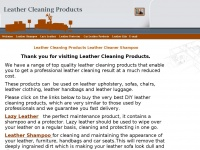 leathercleaningproducts.co.uk
