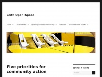 Leithopenspace.co.uk