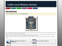 Leithlocalhistorysociety.org.uk