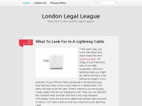 londonlegalleague.co.uk