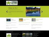 lotuslandscaping.co.uk