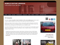 mobileguitarlessons.co.uk