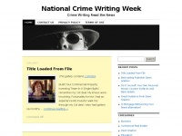 nationalcrimewritingweek.co.uk