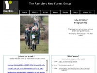 Newforestramblers.org.uk
