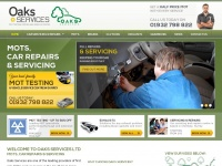 oaks-services.co.uk