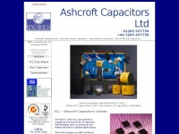 ashcroftcapacitors.co.uk